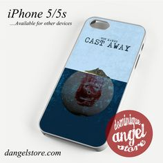Movie Poster Cast Away Phone case for iPhone 4/4s/5/5c/5s/6/6 plus