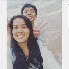 Hello! Its our first time go to the beach together. Hope we can explore more wonderful things di ❤