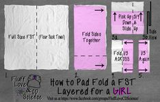 Flour Sack Towel - How to Fold for a Girl - Cloth Diapering