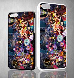 all disney villain  X0988 iPhone 4S 5S 5C 6 6Plus, iPod 4 5, LG G2 G3 Nexus 4 5, Sony Z2 Case