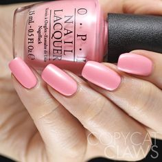 Opi Italian Love Affair No Picture Is Actually Able To Capture The Perfect Pearly Neon Pink Shade Of This Nail Polish You Just Have Get It 3