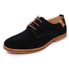 Mens Casual Business Gray Tide Leather Shoes - US$28.95