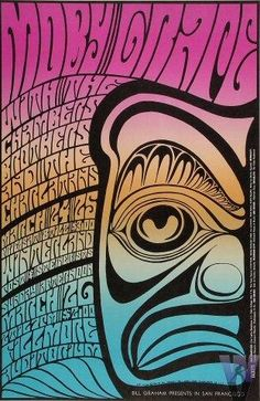 Wes Wilson Fillmore poster