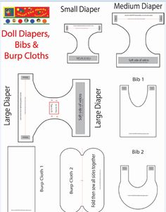 Protected: Doll Diapers, Bibs & Burp Cloths-Templates (MP)