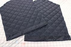 Стеганый прямоугольный жакет (выкройка, Diy) / Простые выкройки / ВТОРАЯ УЛИЦА