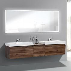 "Danielle 30""x72"" LED Mirror.. #bathroom #bathroomdesign #bathroomdecor #bathroomremodel #bathroomrenovation #bathtubs #kitchen #kitchendesign #kitchendecor #kitchenremodel #kitchenrenovation #vanities #mirrors #shower #interior #interiordesign #interiordecor #homeimprovement #remodel #renovation Modern Bathroom Cabinets, Modern Master Bathroom, Bathroom Spa, Bathroom Colors, Bathroom Furniture, Small Bathroom, Mirror Bathroom, Wooden Furniture, Bathroom Remodeling"