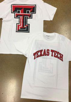 Champion Texas Tech Red Raiders White Rally Loud Short Sleeve T Shirt - Image 2 Raiders Gifts, Raiders T Shirt, Tech T Shirts, Texas Tech Red Raiders, T Shirt Image, New Print, Short Sleeve Tee, Rally, Team Logo