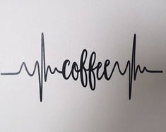 Kitchen Wall Decor - Coffee Decal - Coffee Lovers - Coffee Bar Decor- But First Coffee Make Your Own Coffee, Coffee Wall Art, Spring Banner, Kitchen Decals, Dog Treat Jar, Tattoos For Lovers, Jar Gifts, Wall Decals, Coffee Lovers
