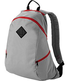 Our Bullet Backpacks feature a large zippered main compartment along with slash pocket, zippered side pockets and zippered quick access pocket on top with reinforced top carry handle and adjustable padded shoulder straps for user comfort. Emblazoned with your logo and message these stylish backpacks are sure to carry your message in style wherever they go.