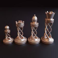 Chess Set on Behance