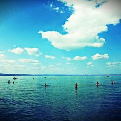Balaton Hungary siofok Hungary, Travel Ideas, Europe, Clouds, Places, Photography, Outdoor, Outdoors, Photograph