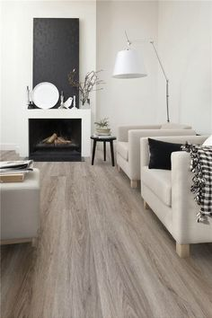 Hout wit taupe