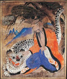 Traditional Korean Art   Traditional Shaman Art from Korea   Shamanism  Visionary Art