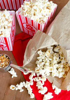 Homemade Microwave Popcorn by Seeded at the Table
