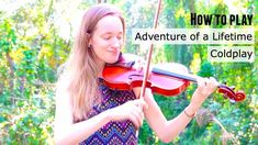 Learn how to play adventure of a lifetime on the violin. #learntoplayviolin #howtoplayviolin #learnviolin
