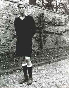 Prince Philip at Gordonstoun, mid-1930s