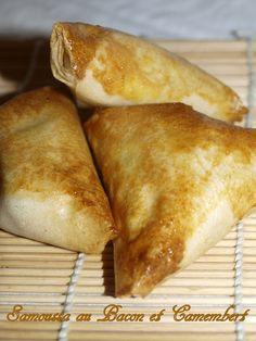 Aujourd'hui je vous propose une délicieuse version de samoussa .  INGREDIENTS 10 feuilles de brick 10 tranches...