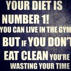 Absolument vrai!! Si tout le monde pouvait comprendre ce principe! #workhardeatclean #wordstoliveby #fitness #success #truth