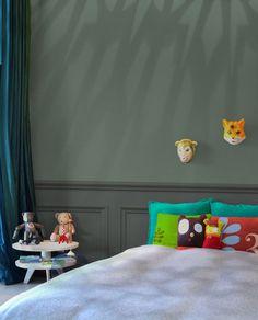 Peindre la chambre d'enfant en couleur