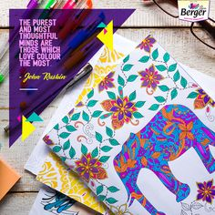 Colour is food for thought and soul. Do you agree   ColourQuote Color Quotes 6683b02c8c80
