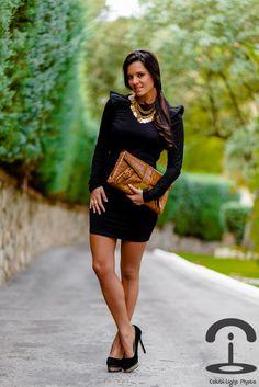 Crimenes de la Moda: Black dress + Sorteo Menbur