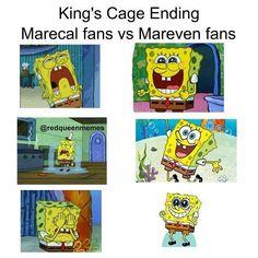 Kings Cage Marecal vs Mareven