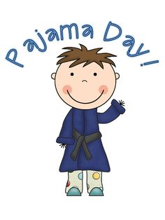 Pajama Day! Cute pic.