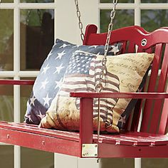 Find rustic Americana style décor and furniture at Country Door! Find unique, vintage-look home accents in shades of red, white and blue. Up House, Old Glory, Patriotic Decorations, Porch Decorating, Decorating Ideas, Craft Ideas, Red White Blue, Navy Blue, Fourth Of July