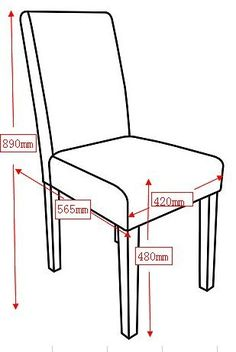Standard dimensions | Projects to Try | Pinterest | Chair ...