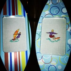 Wind & Surf cross stitch pictures by bumblebeedream on Etsy