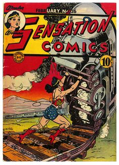 Stop That Train, Wonder Woman!