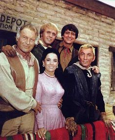 The High Chaparral 1967 to 1971.  is an American Western-themed television series starring Leif Erickson and Cameron Mitchell and also	  Mark Slade  Linda Cristal  Henry Darrow  Don Collier