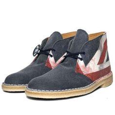 Clarks Originals Desert Boot 'Punk Edition' Receives Makeover #shoes #footwear trendhunter.com