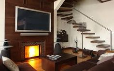 wall mounted tv - Google Search