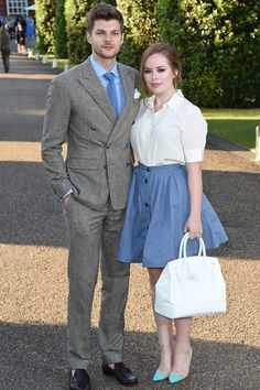 Jim Chapman and Tanya Burr 2015 Jim And Tanya, Celebrity Couples, Celebrity Style, Apple Shape Fashion, Sunday Clothes, Tanya Burr, Cute Romance, Vintage Trends, Fashion Couple