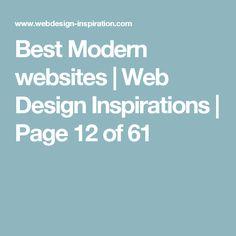 Best Modern websites | Web Design Inspirations | Page 12 of 61