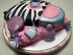 Girlie Spa Cake