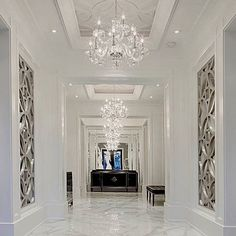 Home Room Design, Dream Home Design, Home Interior Design, Living Room Designs, Home Entrance Decor, House Entrance, Floor Design, Ceiling Design, Marble House