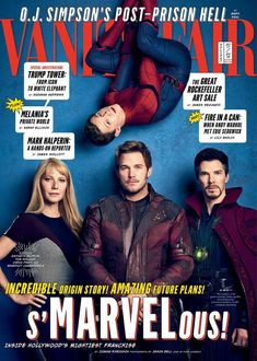 I Live and Breathe Under the Moon — marvel-feed: NEW VANITY FAIR COVERS...