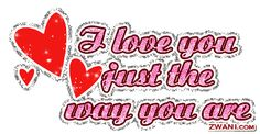 I Adore You | Cut & Paste I Love You graphics code below to your profile or website