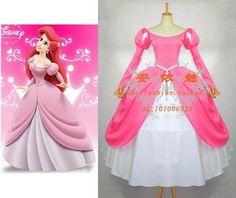 Cosplay Ariel disney  Princess  dress G656 Tailor-made, $156