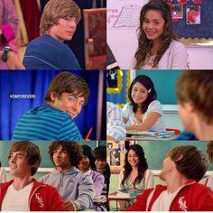 Sad Disney, Disney Love Songs, Disney Nerd, Disney Channel Movies, Disney Movies, I Movie, Movie Stars, High School Musical Cast, Troy And Gabriella