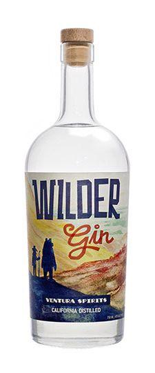 Wilder Gin # Gin of the World # USA#