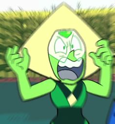 I had a dream where I was doing a public debate with Peridot about this matter. Lapidot, Steven Univese, Steven Universe Funny, Star Vs The Forces Of Evil, Force Of Evil, Fandoms, Cartoons, Peridots, Doritos