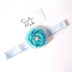 Check out this item in my Etsy shop https://www.etsy.com/listing/527160516/girls-aqua-blue-headband-elastic