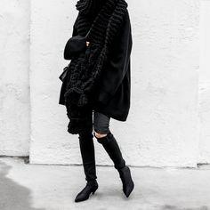 #GucciBag #Gucci #Balenciaga #ootd #allblackeverything #distresseddenim #figtny