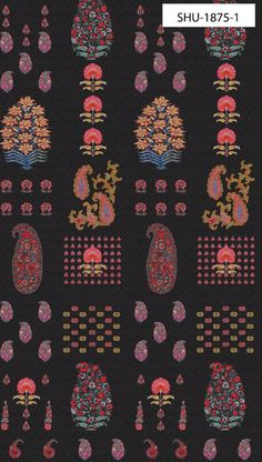 Textile Pattern Design, Garden Of Earthly Delights, Victorian Flowers, Indian Fabric, Flower Wallpaper, Paisley Wallpaper, Traditional Paintings, Thing 1, Kids Prints