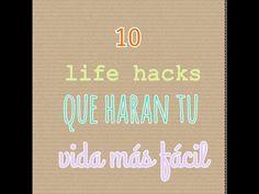 YouTube #papelitos Nicole #10 life hacks SUSCRIBIROS SI OS GUSTA , ES GRATIS !!!