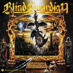 Blind Guardian - Imaginations From The Other Side (animated cover artwork GIF) #blindguardian #imaginations #progressivemetal #powermetal #heavymetal #metal #animatedcovers #albumgifs #hansikursch #AndreOlbrich #MarcusSiepen