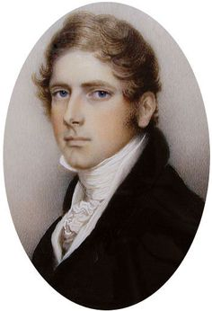 Miniature Portrait of Edward Archer 1815, by Andrew Plimer.